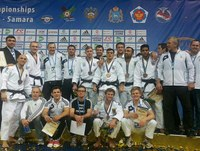 Bronze beim Golden League 2014 in Samara, Russland