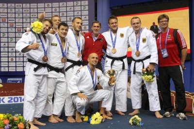 Judo-WM2014  Team & Trainer